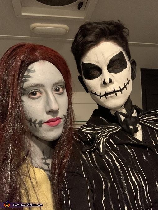 Jack and Sally Couple's Costume, Jack and Sally (Nightmare Before Christmas) Costume