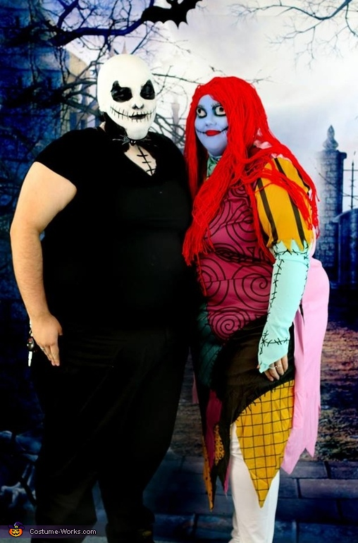 Jack and Sally Couples Costume