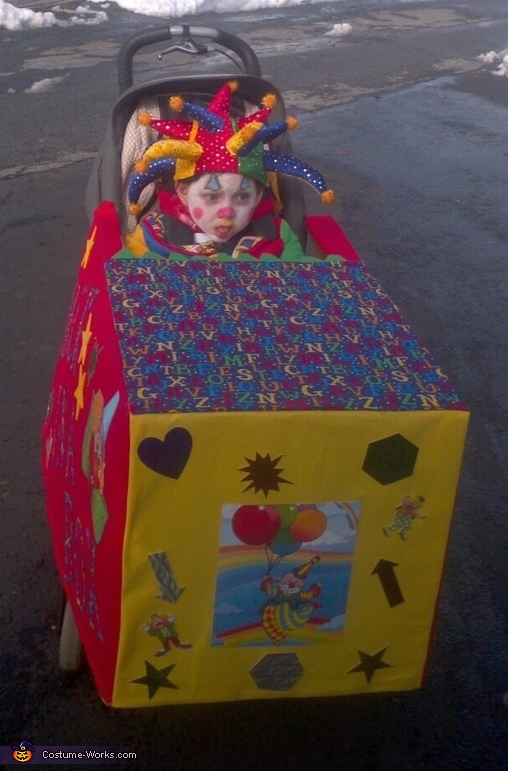 Jack in a Box Wheelchair Costume