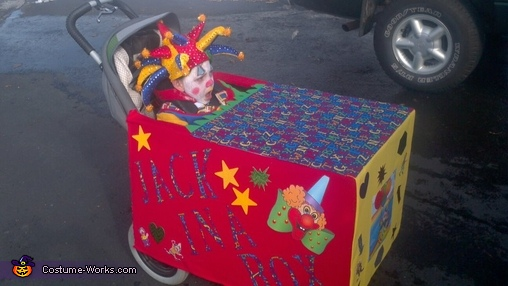 Jack in the Box Wheelchair Costume