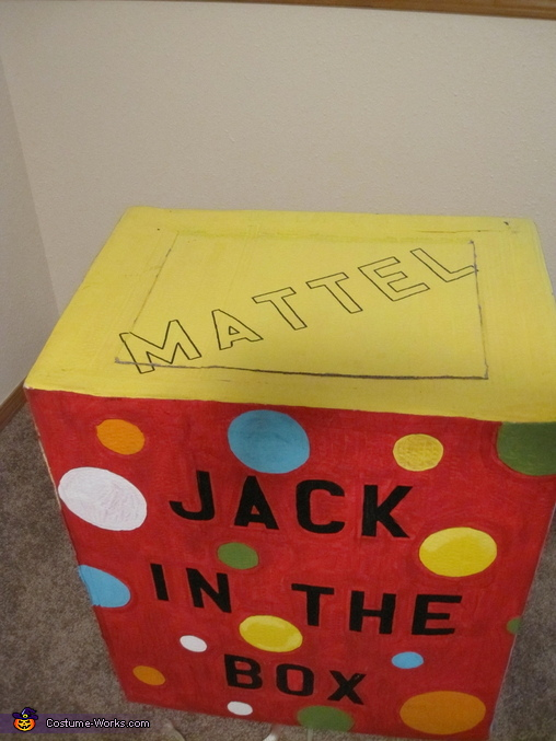 Jack in the Box (Top View), Jack in the Box Costume