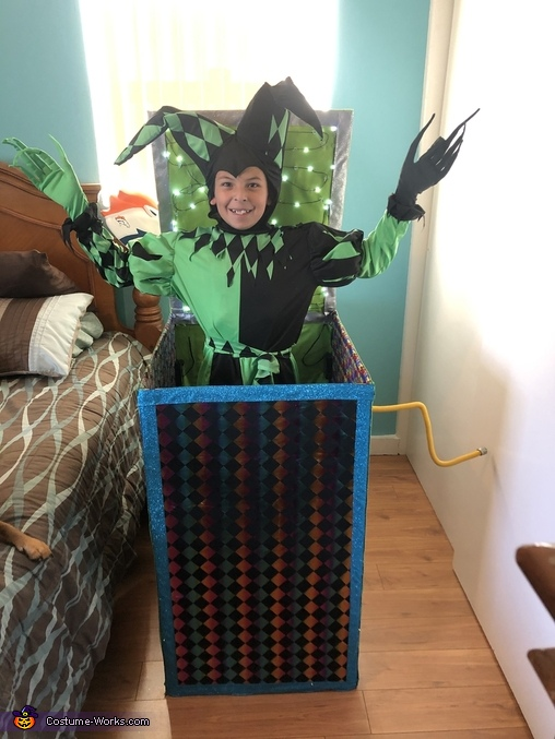 Smiling, Jack in the Box Costume