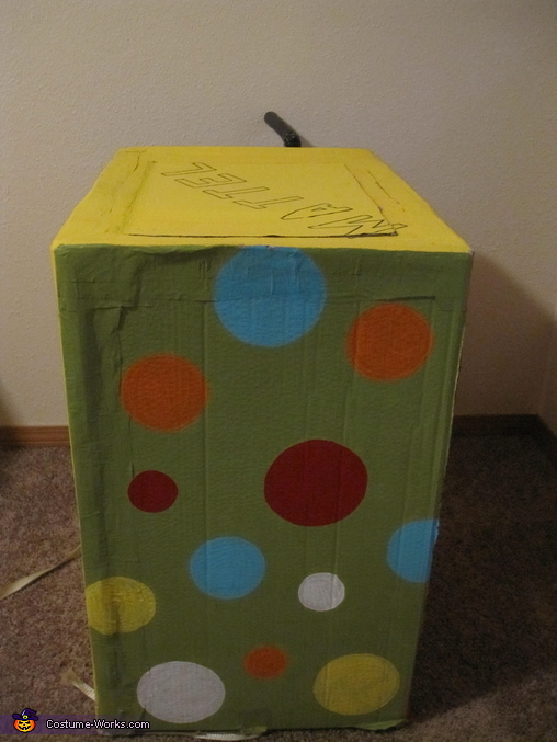 Jack in the Box (Side View), Jack in the Box Costume