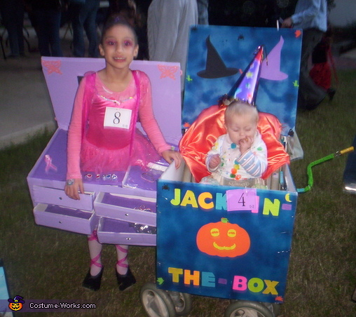 Toddler Jack in the Box Costume