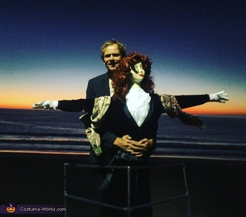 Jack & Rose from Titanic Costume