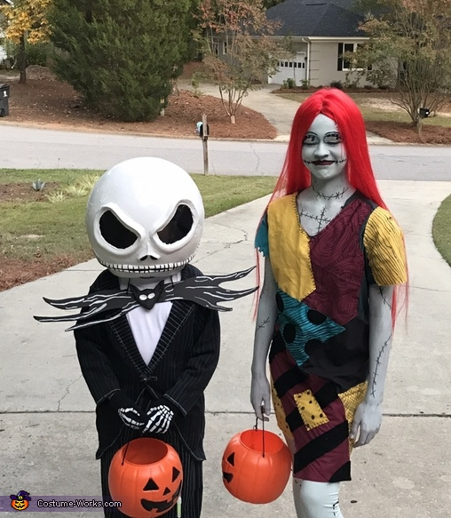 Jack & Sally Costumes