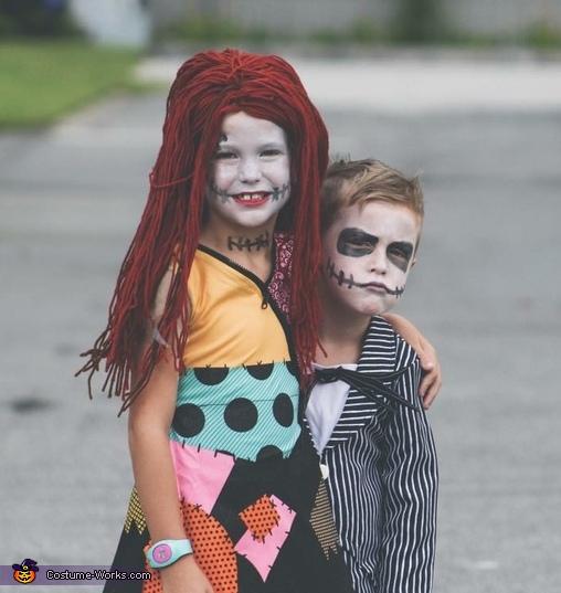 Jack & Sally Costume