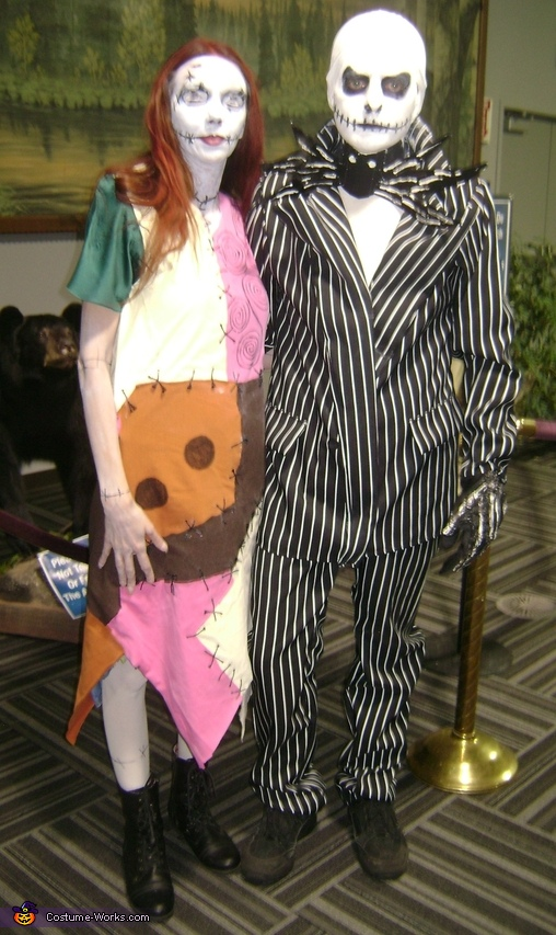 & Sally Nightmare Before Christmas Couple Costume