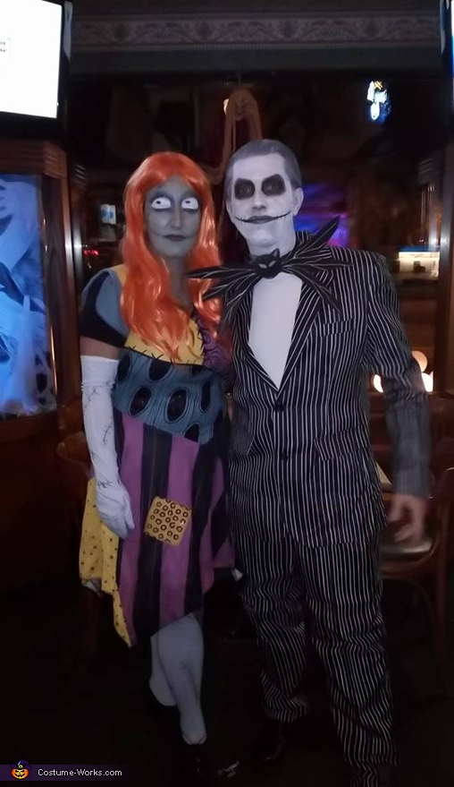 Jack & Sally Skellington Costume
