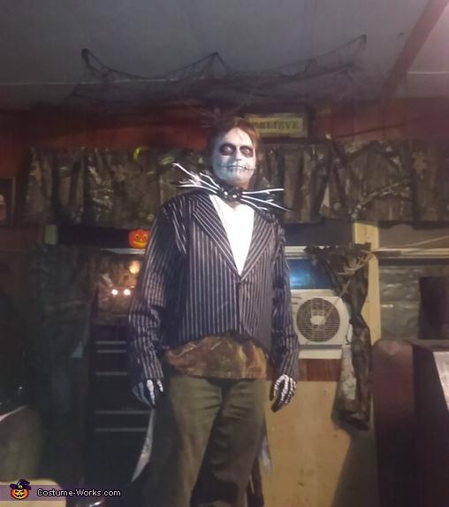 Jack Skeleton Costume