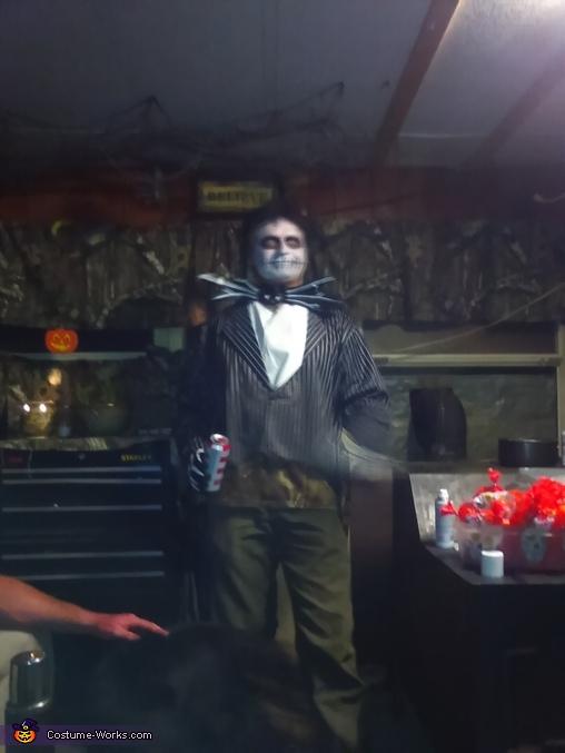 Jack Skeleton Homemade Costume