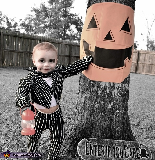 Toddler Jack Skellington Costume