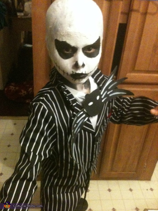 Jack Skellington Costume  sc 1 st  Costume Works & The Nightmare Before Christmas Jack Skellington Costume