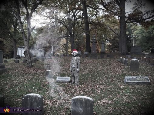 The Pumpkin King, Jack Skellington Costume