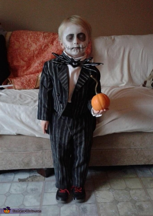 The Pumpkin King!, Jack Skellington Costume