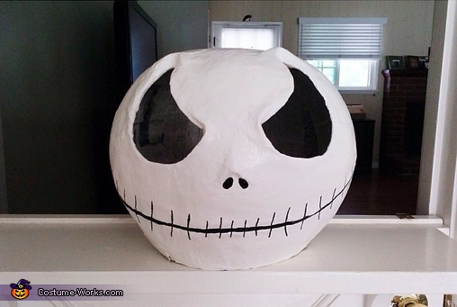 Jack Skellington Head, DIY Jack Skellington Costume for Boys