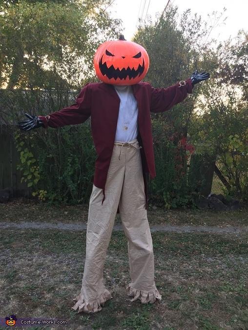scarecrow pumpkin head jack skellington, Jack Skellington Costume