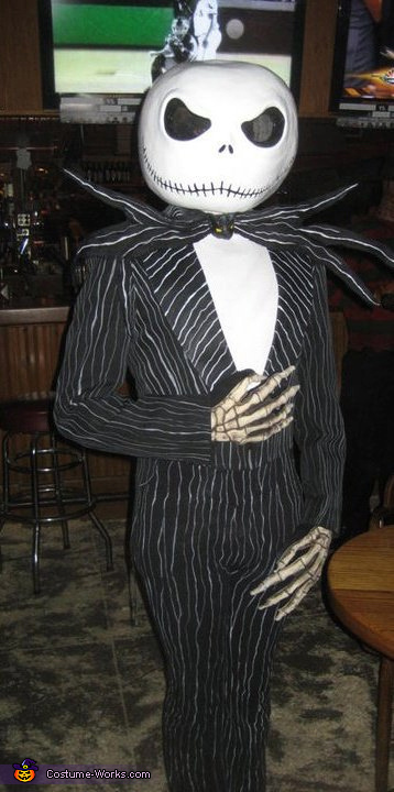 diy jack skellington adult costume