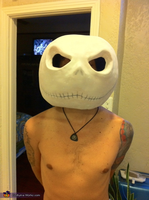 DIY Jack Skellington Costume