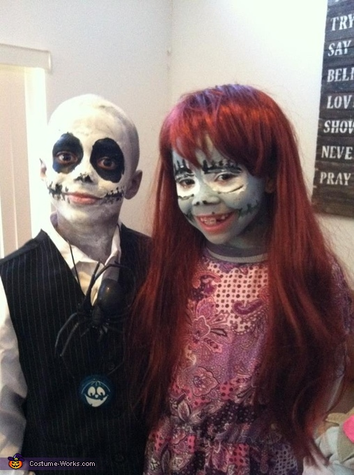 Jack Skellington and Sally Costume
