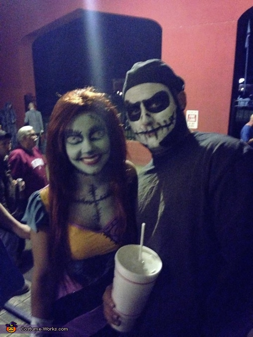 Jack and Sally , Jack Skellington and Sally Costume
