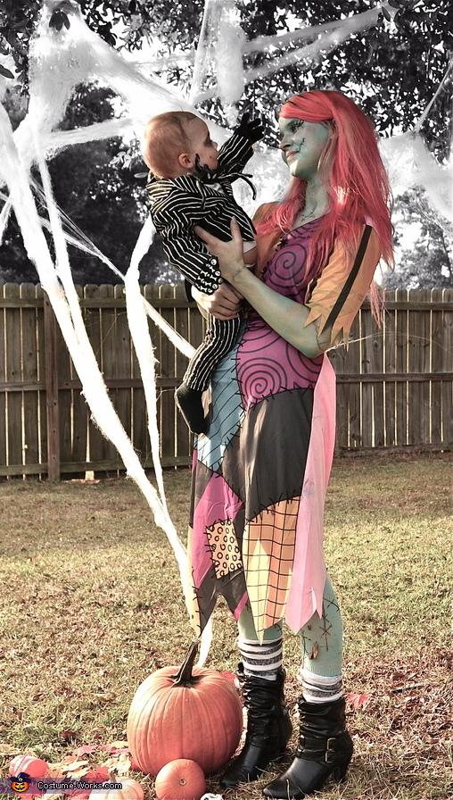 Love my lil Pumpkin King!, Jack Skellington and Sally Costume