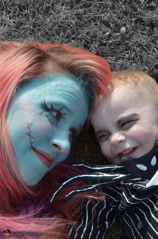 The love between Mother and Son., Jack Skellington and Sally Costume