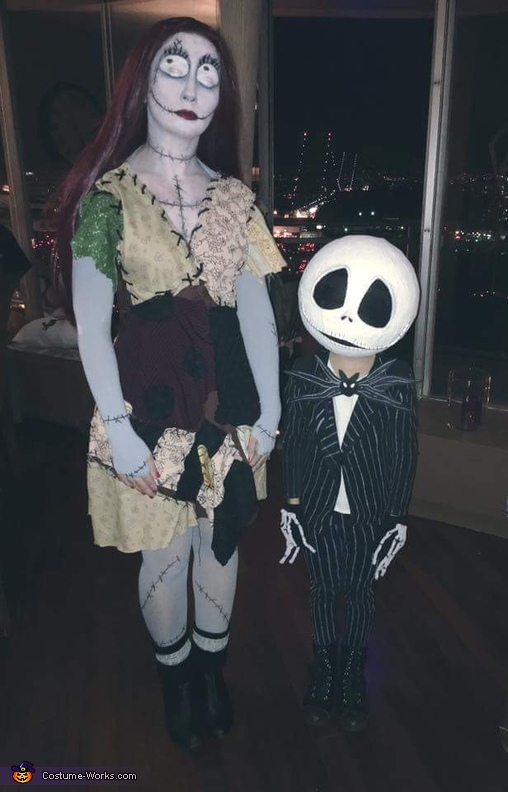 Jack Skellington and Sally Nightmare Before Christmas Costume