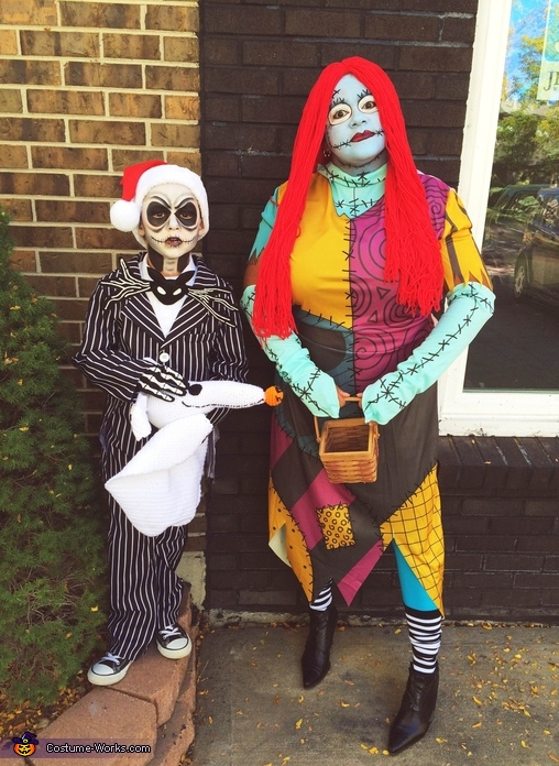 Jack Skellington and Sally Rag Doll Costume