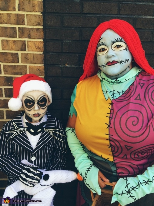 Jack Skellington and Sally Ragdoll, Jack Skellington and Sally Rag Doll Costume