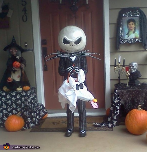 Jack Skellington - Jack the Pumpkin King Costume