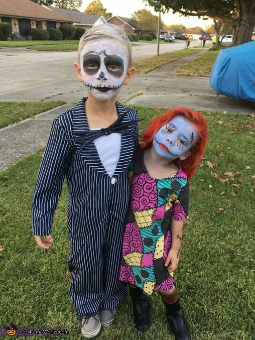 Jack Skellington & Sally Costume
