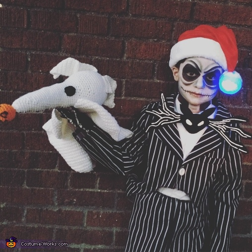 Jack Skellington from Nightmare Before Christmas, Jack Skellington Pumpkin King Costume
