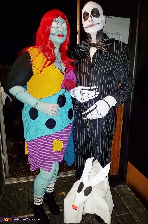 & Jack Skellington Sally u0026 Zero Costume