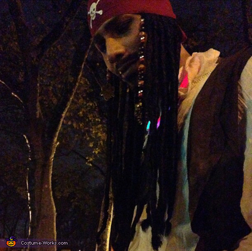 DIY Jack Sparrow Halloween Costume