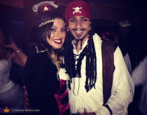 DIY Jack Sparrow Halloween Costume