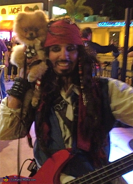 the undead monkey pom, Jack Sparrow Costume