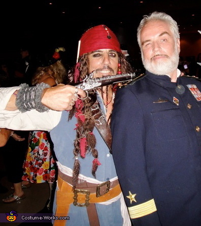 jack takes over the ship, Jack Sparrow Costume