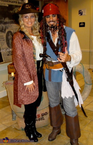 jack and his girl, Jack Sparrow Costume