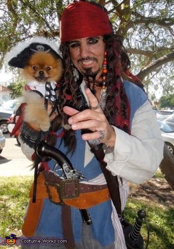 jacks pirate dog, Jack Sparrow Costume