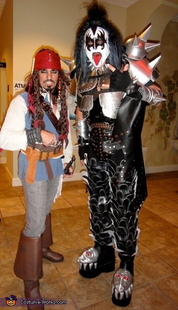 jack and the demon, Jack Sparrow Costume