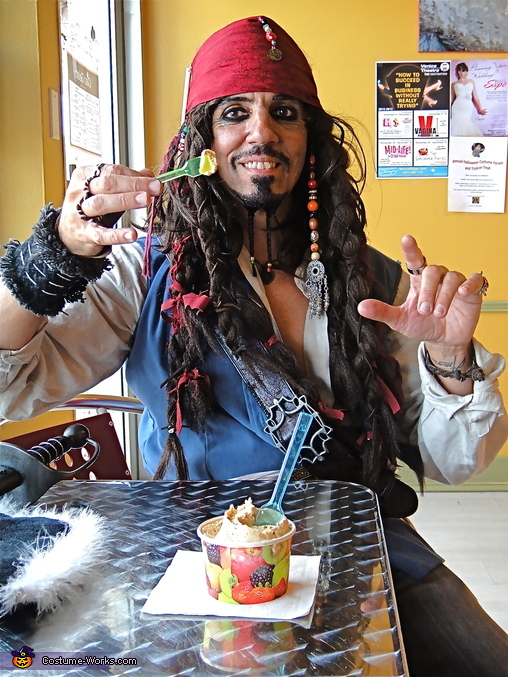 ah! peanut ice cream, Jack Sparrow Costume