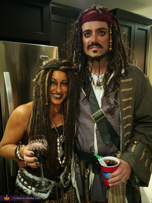 Jack Sparrow and Calypso Costume