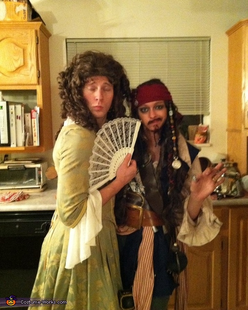 Jack Sparrow and Elizabeth Costume