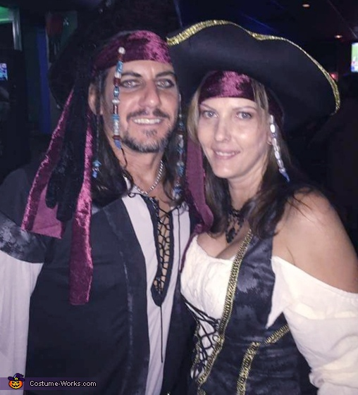Jack Sparrow and his Scallywag Costume