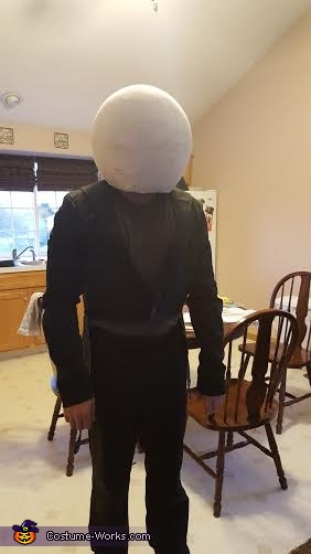 Jack the Pumpkin King Homemade Costume