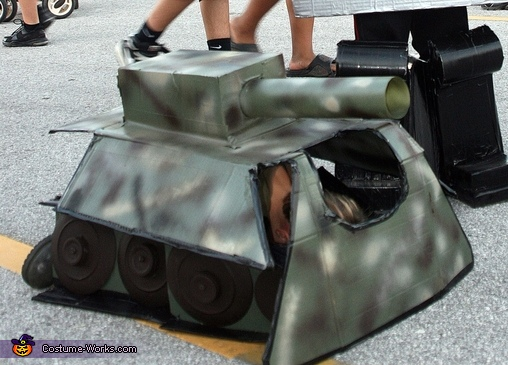 Tank Transformer Halloween Costume