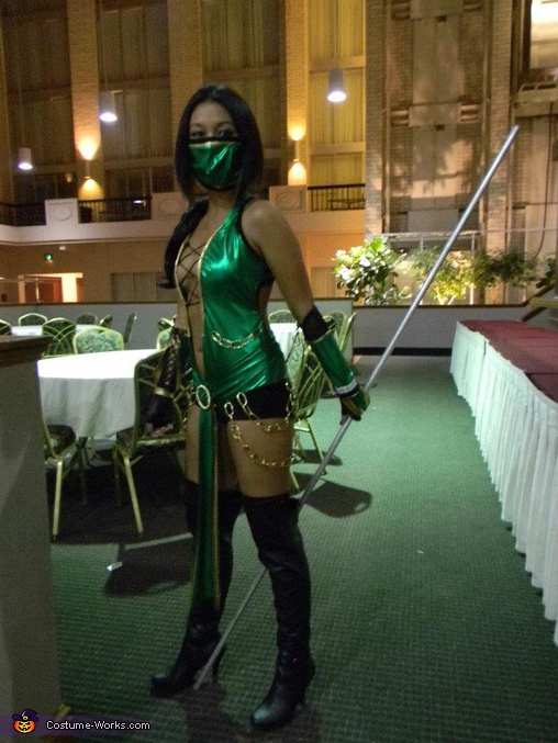 Jade!!!. Mortal Kombat Fighters - Homemade costumes for groups