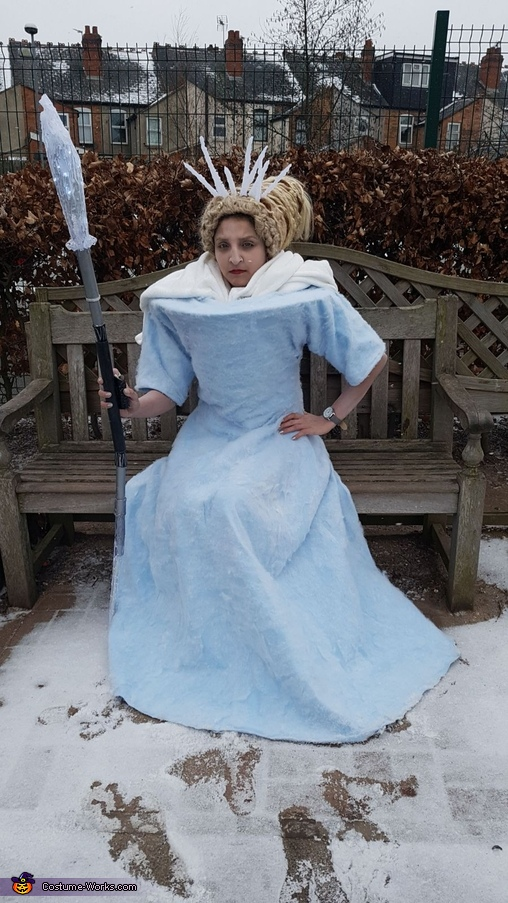 Evil look, Jadis White Witch Narnia Costume