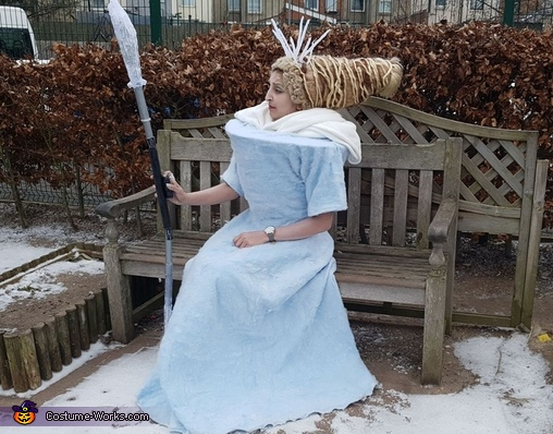 Looking to freeze someone, Jadis White Witch Narnia Costume